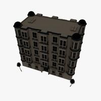 hotel apartments 3d model