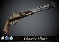 Classic Capsular Pistol - model and textures