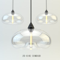 3d zed home chandelier