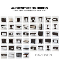 davidson furniture 3d x