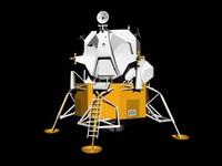 3d apollo lunar module