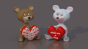 3d model teddy bear