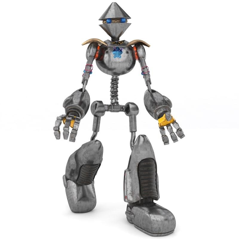 robot electron 3d max