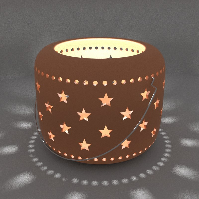 obj tealight holder