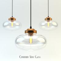 3d chandelier vijay glass model