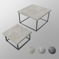 shanghai tables 3d model