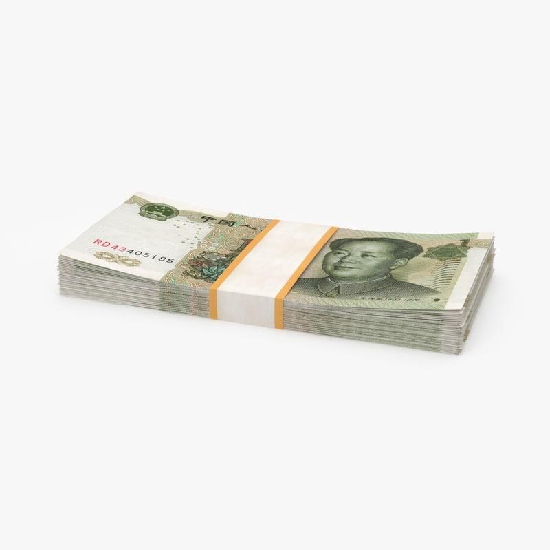 max 1 yuan note pack