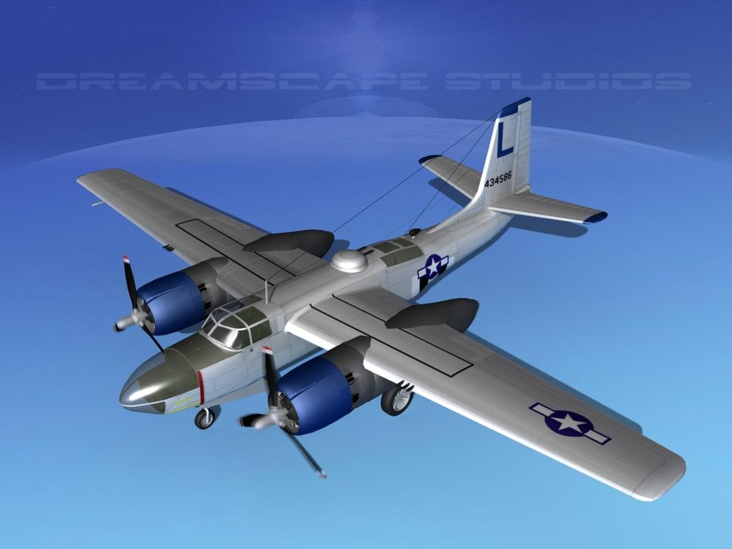 douglas a-26c a-26 bomber lwo