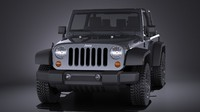 Jeep Wrangler Willis Wheeler 2016 VRAY