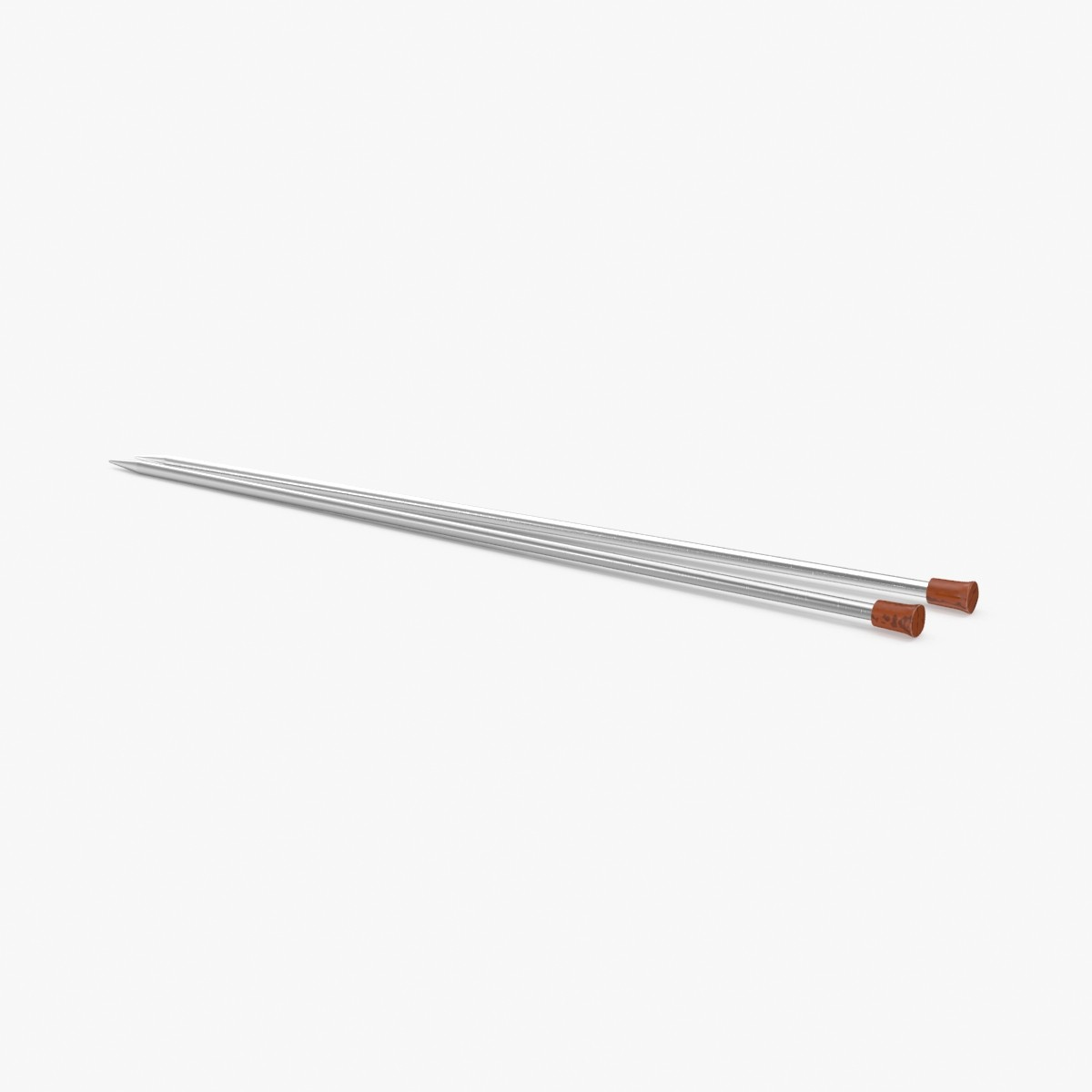 knitting needles 02 3d max