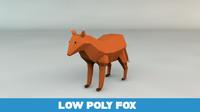 free obj model fox
