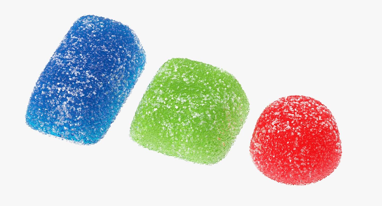 max realistic sugar gumdrops