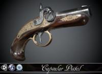 "Capsular Pistol ""Deringer"