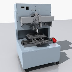 production equipment 3d model