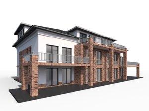 modern city villa max