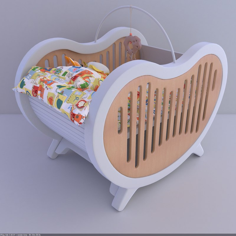 beaneasy dream crib 3d max