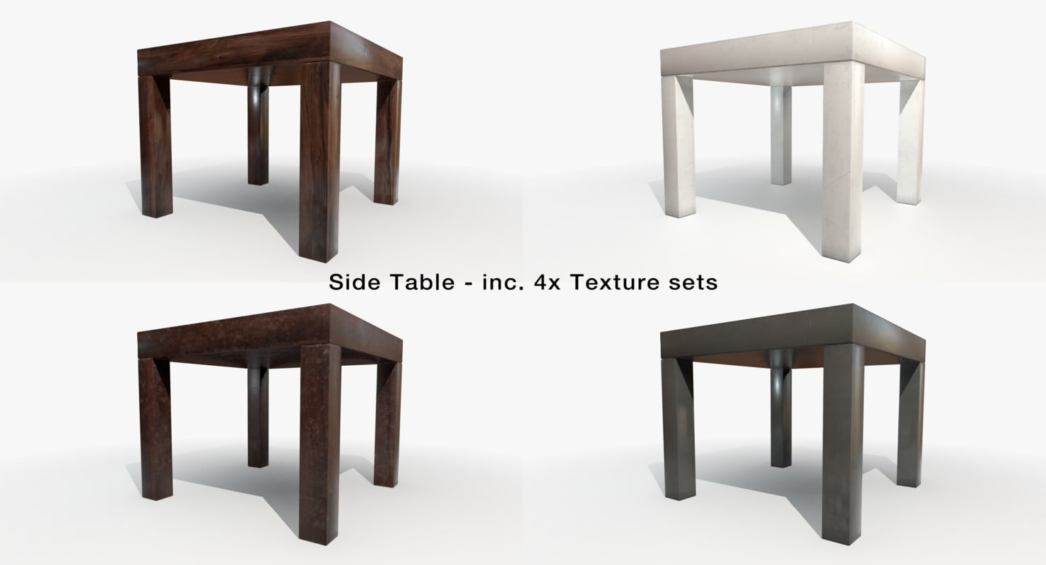 3d model table marmoset ue4