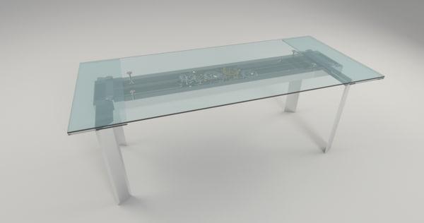 3d model of astrolab roche bobois table