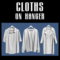 cloth hanger 3d model
