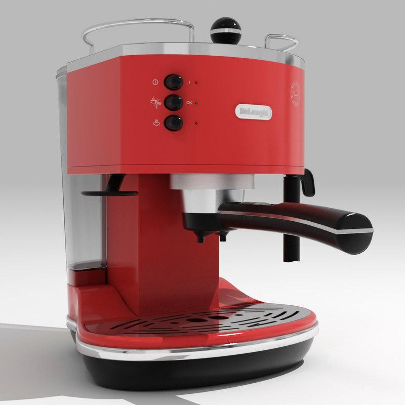 coffee maker delonghi 3d max