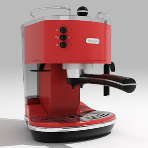 coffee maker delonghi 3d max