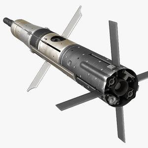 3d model bgm 71c tow missile