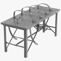 operating table 02 - 3d obj