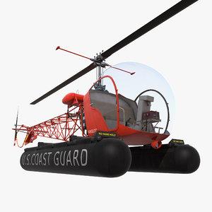 3d bell 47 floats uscg