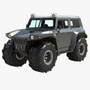 monster truck 3D models