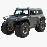 3d vehicle marshland