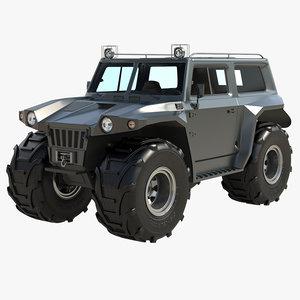 3d vehicle marshland