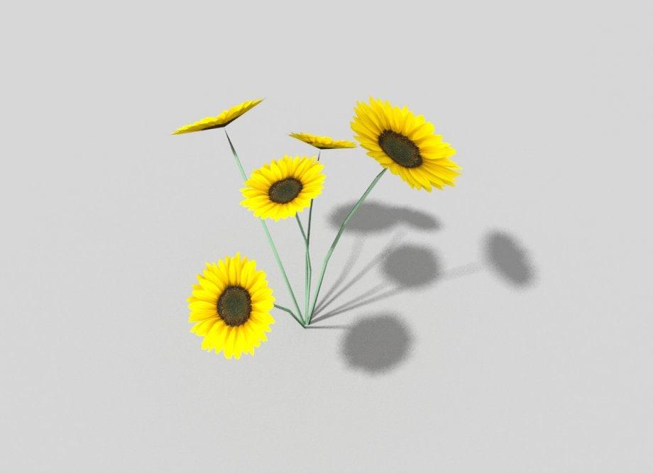 flower games 3d model