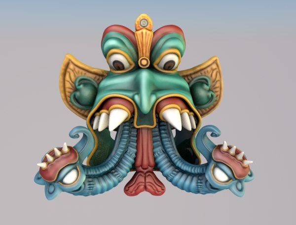 3d sculpture hindu god elephant