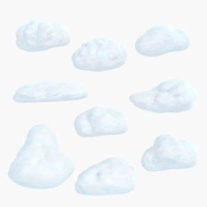 cartoon cloud 3d max