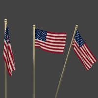 national flag usa 3ds