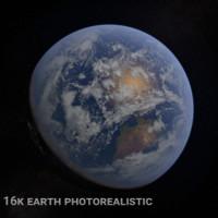 planet earth 16k 3d model