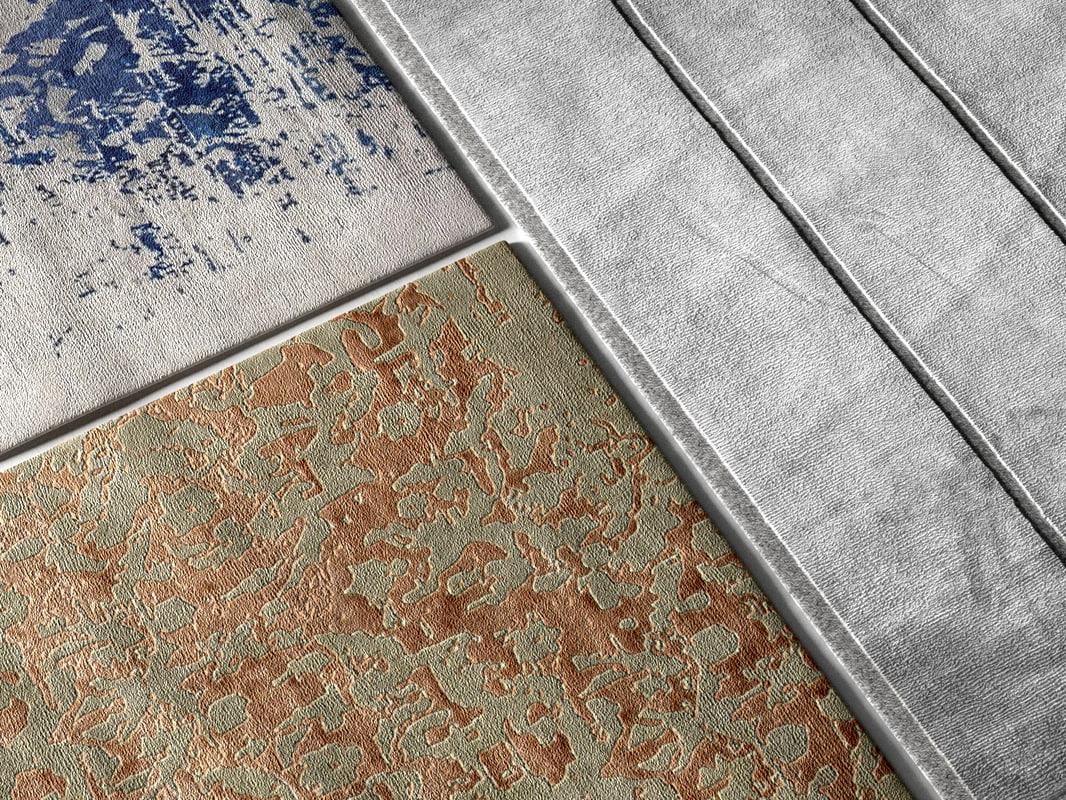 modern rugs 3d max