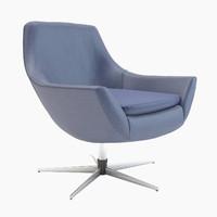 zelda armchair 3d fbx