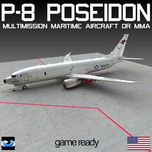 3ds p-8 poseidon