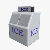3d model ice vending machine