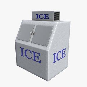 3d model ice vending machine