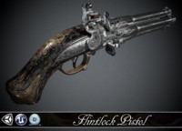 NIGHT QUARTET - Flintlock pistol