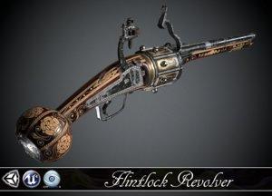flintlock revolver max