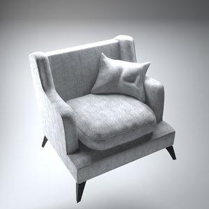 vibieffe armchair 3d max