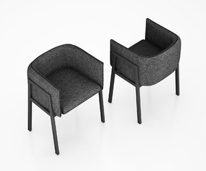 grace chair living 3d model