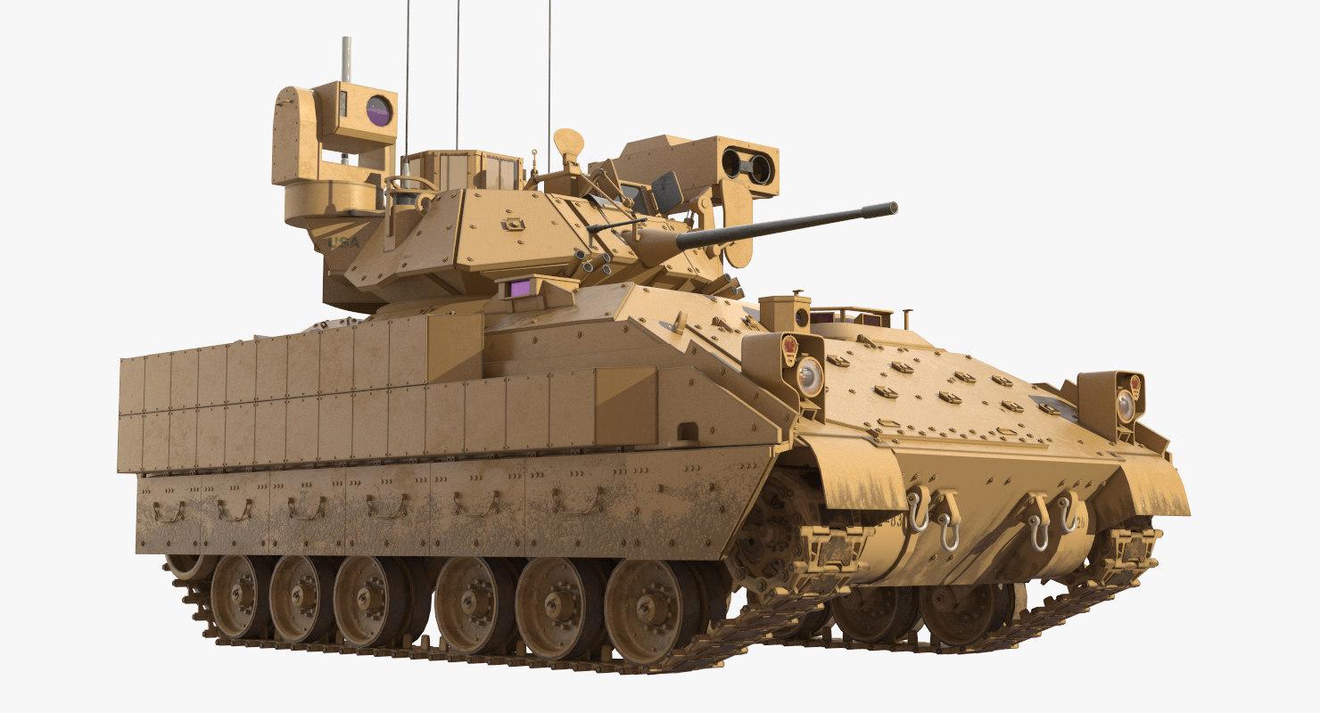 bradley m2a3 tank max