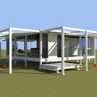 rudolph guest house - obj