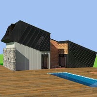 zeb pilote house 3d model