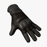 3d si assault glove black model