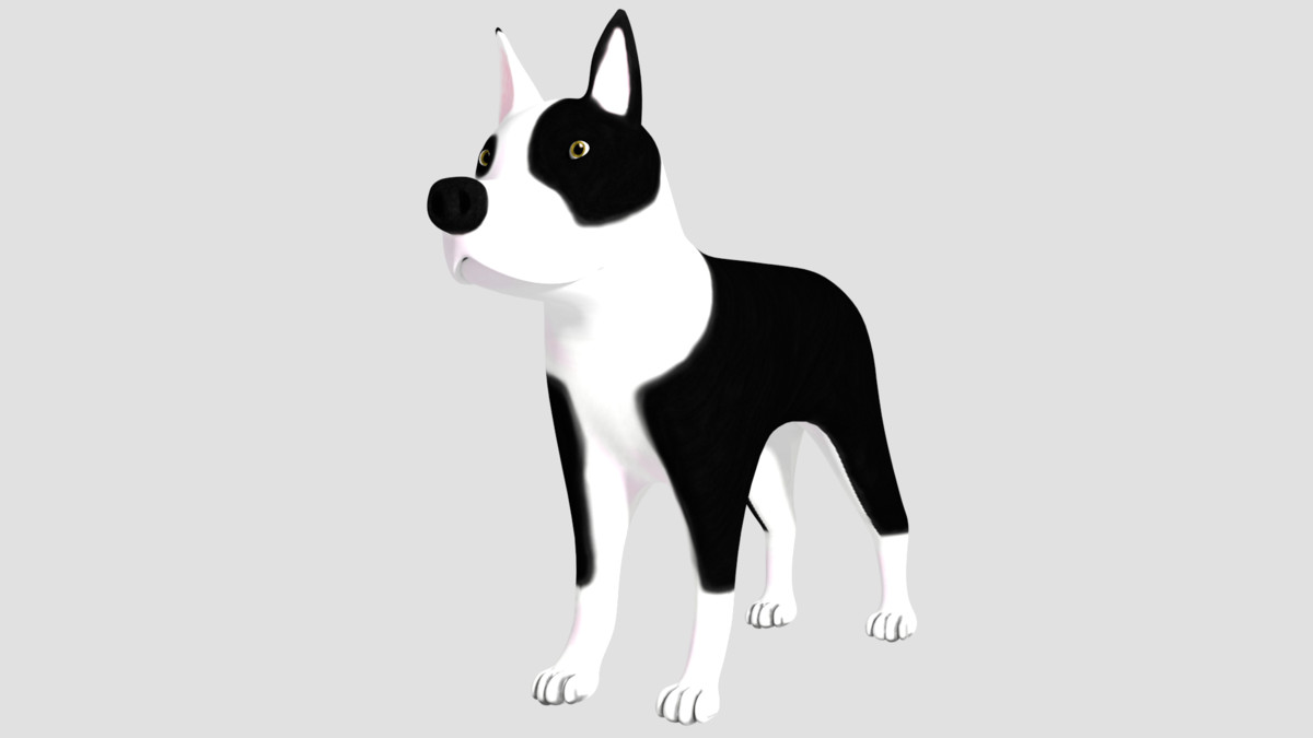 3d pitbull
